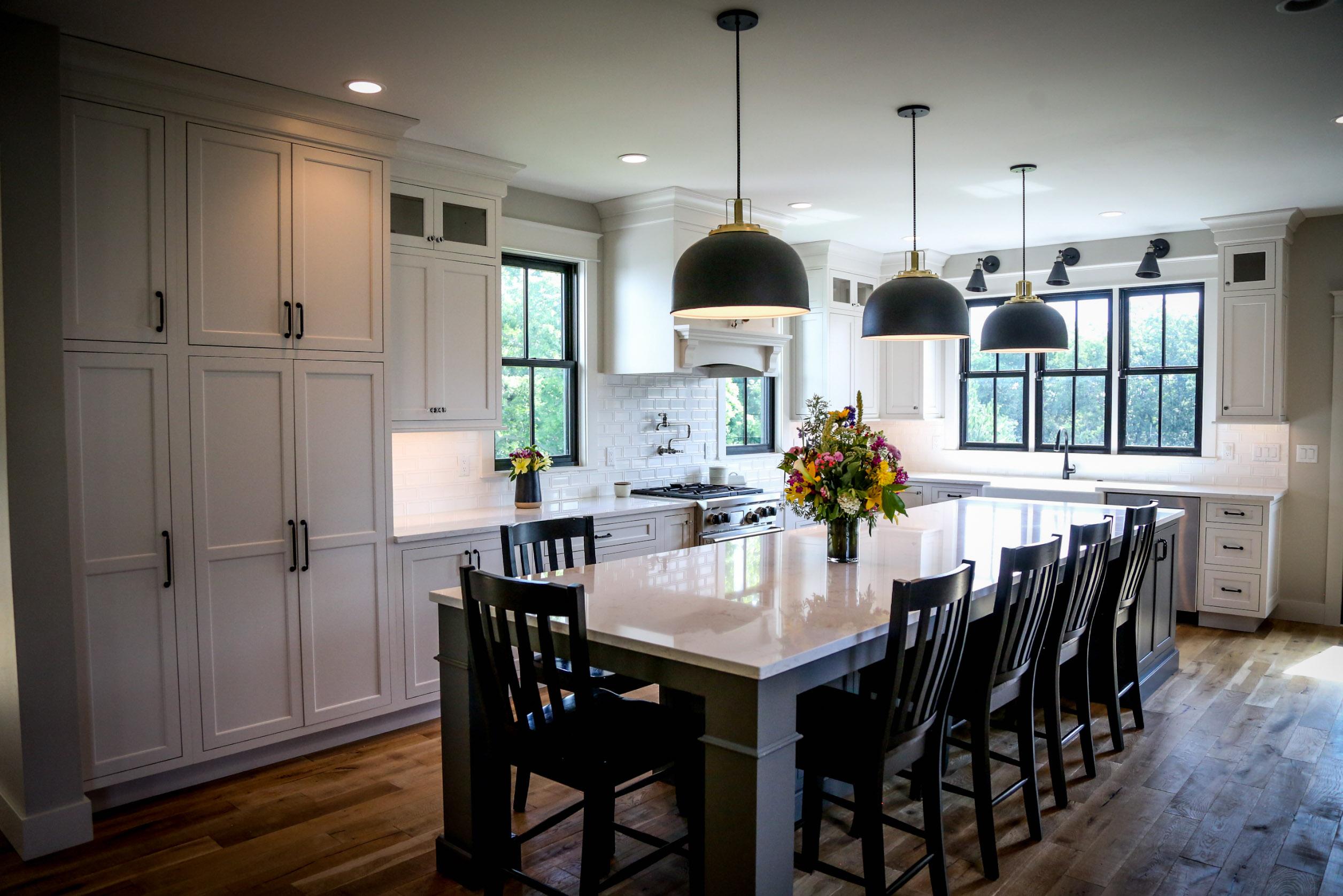 Stebral Construction 2017 Farmhouse Remodel Kitchen
